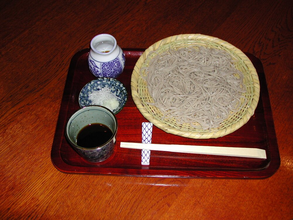 Zaru soba, simple but the most sophisticated